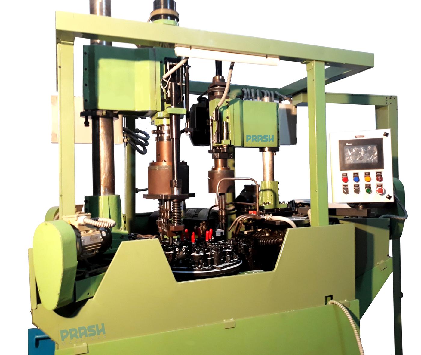 Six Station Rotary Indexing Machining Machine