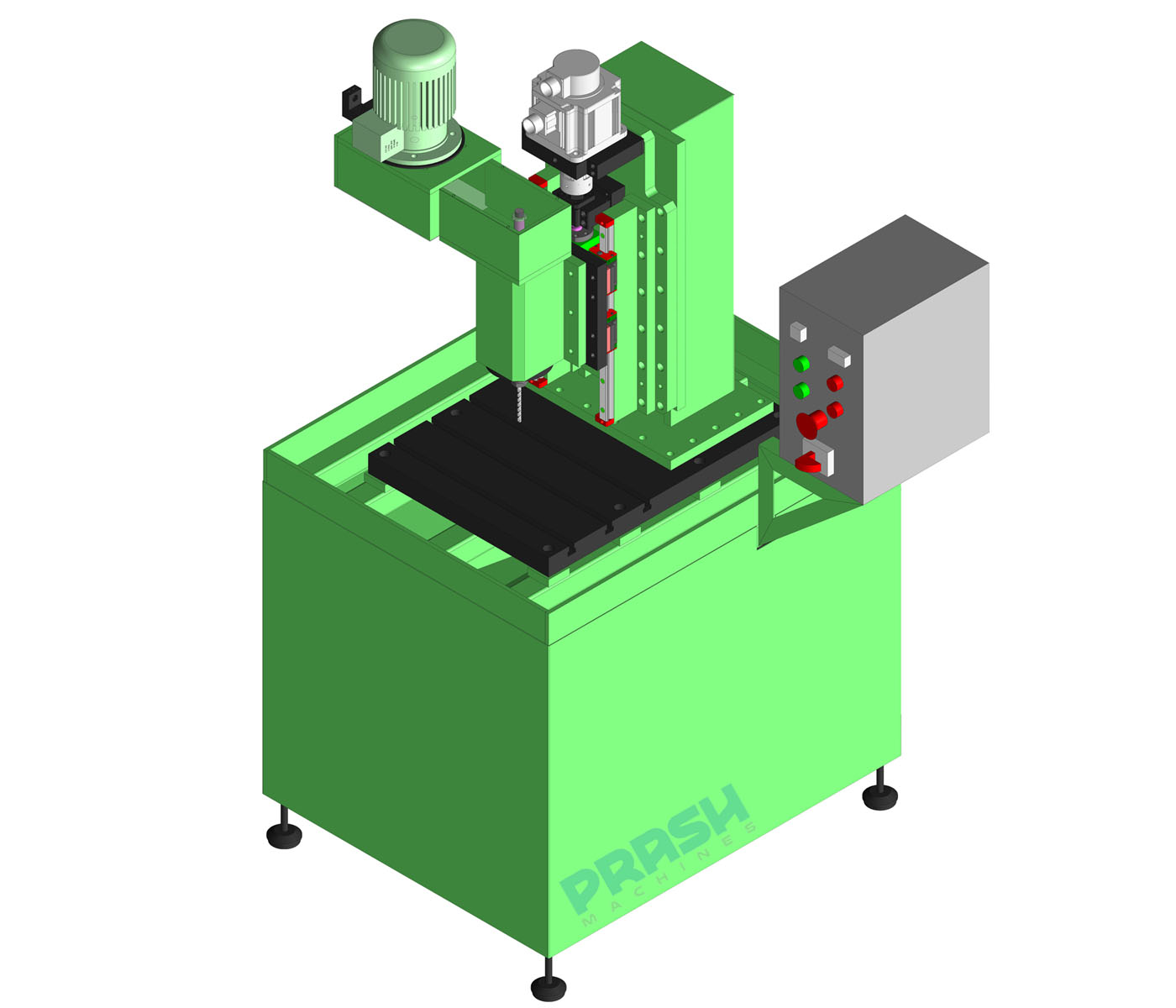 Auto Feed Drilling Machine-Servo Slide Type